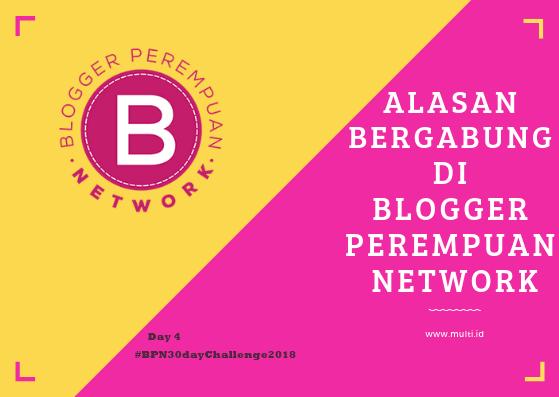 alasan bergabung di blogger perempuan