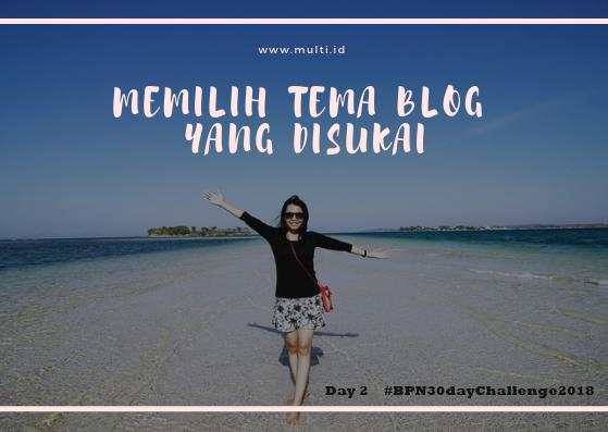 apa tema blog yang disukai