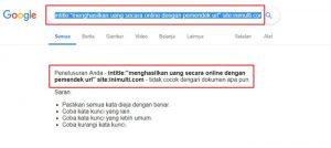 cara cepat agar artikel terindex Google