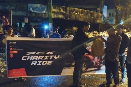 Berbagi Kebaikan di Bulan Suci Ramadhan, Honda KalBar Menggelar Kegiatan PCX Charity Ride (PRIDE)