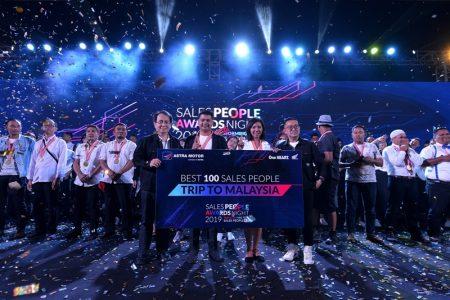 Apresiasi Sales People Terbaik, Astra Motor Ajak Tour ke Malaysia