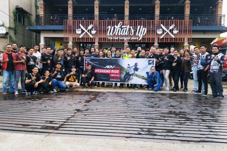 Honda ADV150 Weekend Ride Sukses di Gelar di Pontianak