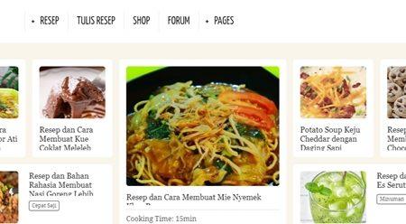 5 Resep Masakan Rinaresep.com Mudah Untuk Dicoba